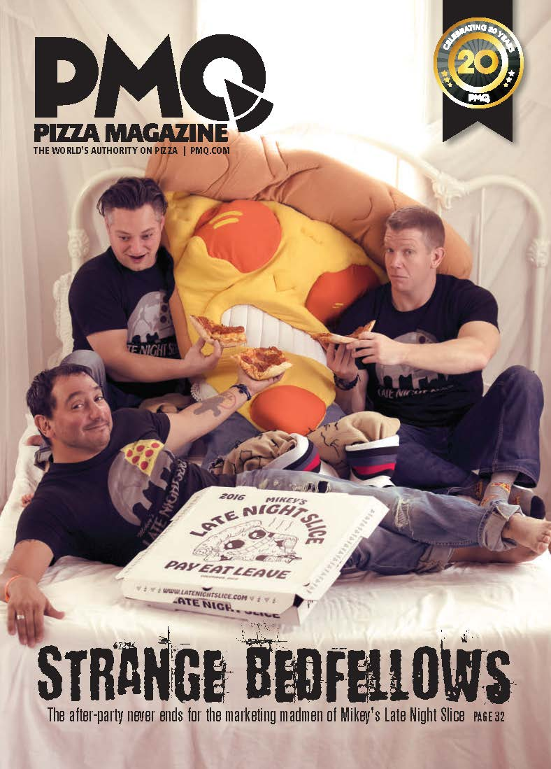 Precinct Pizza - PMQ Magazine - January 2017