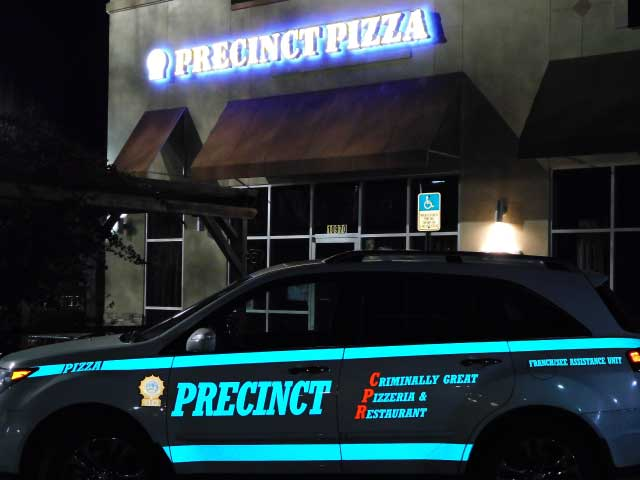 Precinct Pizza - Cross Creek