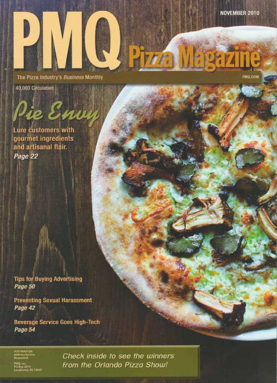 Precinct Pizza - PMQ Magazine Feature